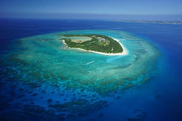 Bird's-eye view of Minna Island (Photo for illustrative purposes only)